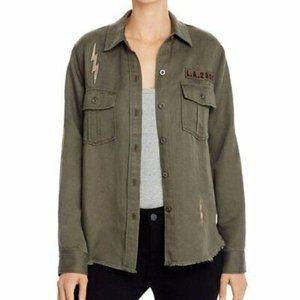 Rails Loren Lightning Bolt Military Style Jacket